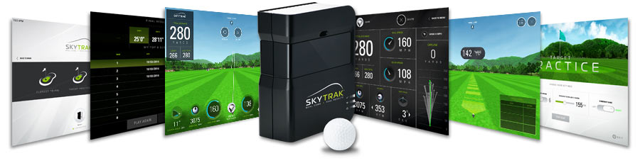 Skytrack launch Monitor